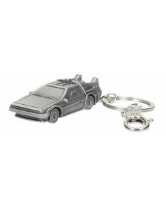 Retour vers le Futur - Porte-clé métal Delorean (3D)