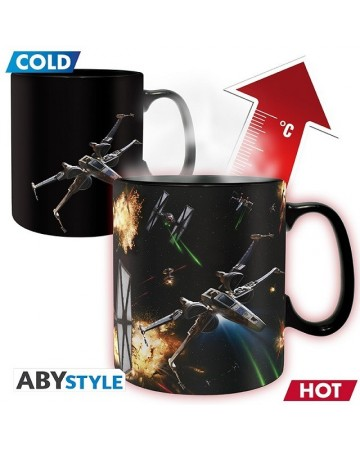 Star Wars - Mug thermo-réactif Space Battle