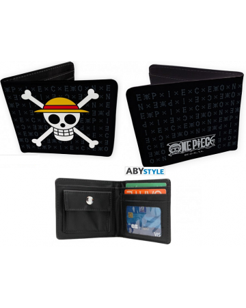 One Piece - Portefeuille Luffy Skull