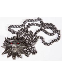 The Witcher - Collier pendentif lumineux Wolf