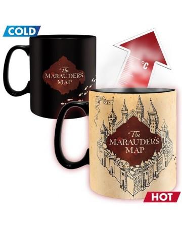 Harry Potter - Mug thermo-réactif Marauder's Map