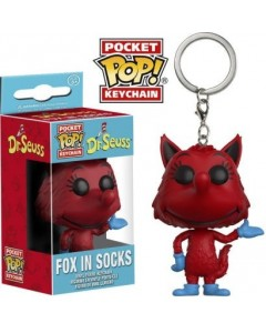 Doctor Seuss - Pop! pocket - porte-clé Fox In Socks