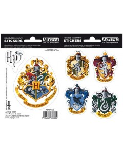 Harry Potter - Planches de stickers Maisons