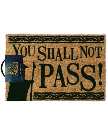 Lord of The Rings - Paillasson You Shall Not Pass