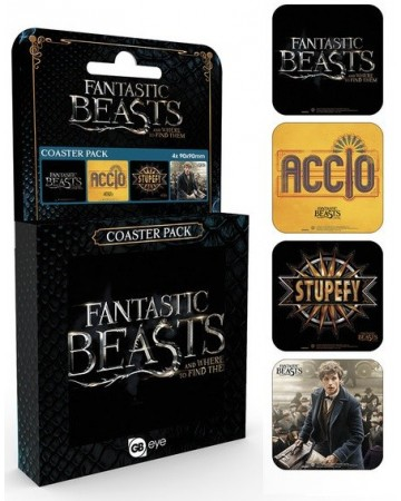 Fantastic Beasts - Set de sous-verres